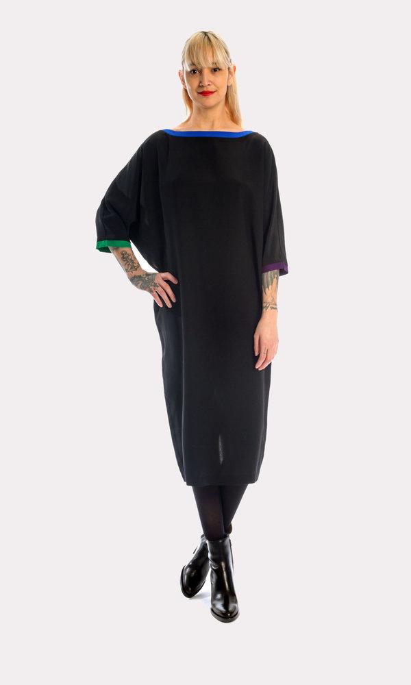 Kurt Lyle VC Original Dress in Crayola/Black
