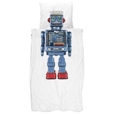 Kids Snurk Robot Duvet Cover Set