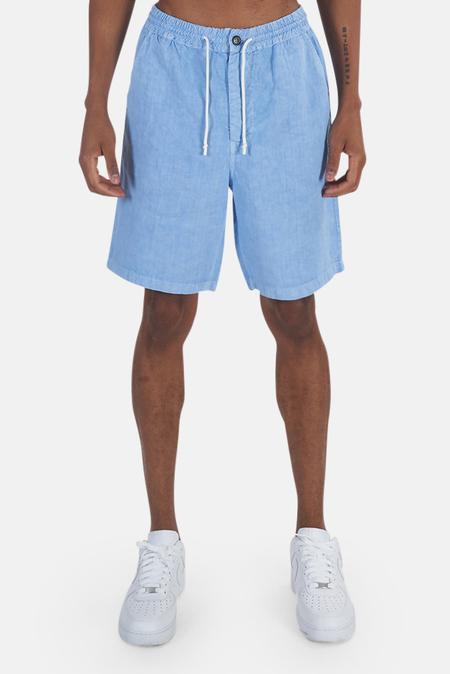President's Linen Bermuda Short - Sky Blue