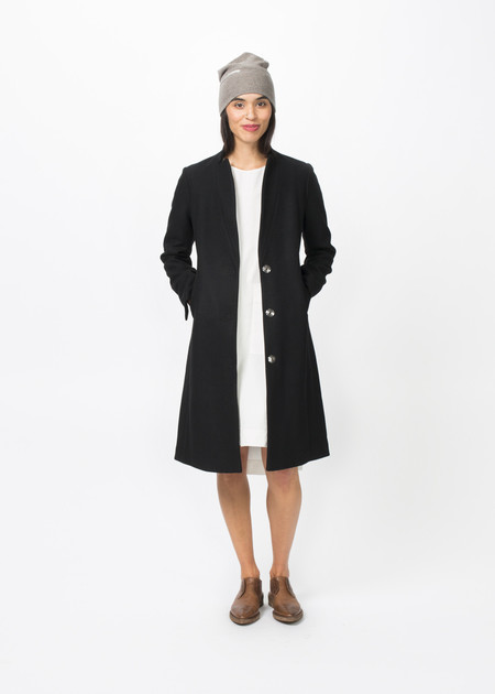 Hudson Slim Lapel Coat