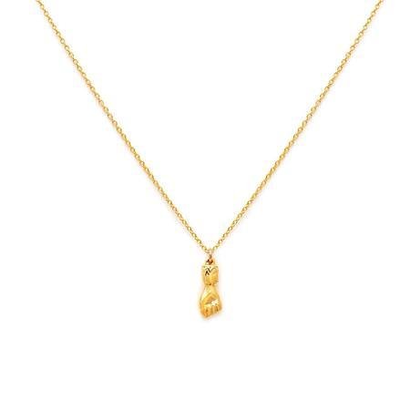 Leah Alexandra Figa Necklace - Gold