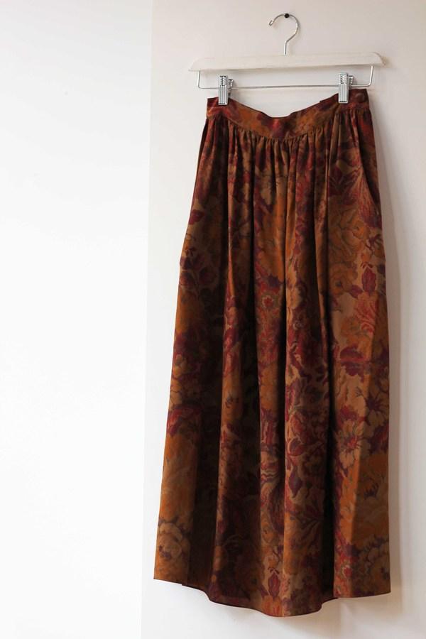 Hey Jude Vintage Silk Garden Skirt