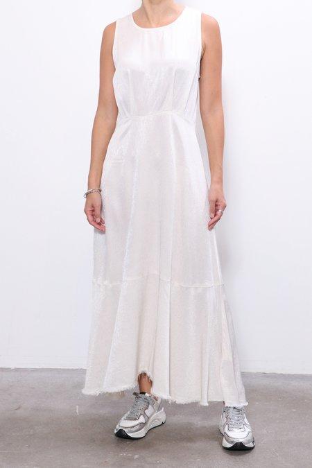 Raquel Allegra Frida Dress - Dirty White