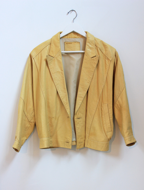 Hey Jude Vintage Leather Jacket