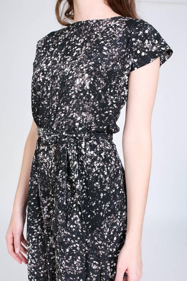 No.6 Store Winona jumpsuit in black/white spray
