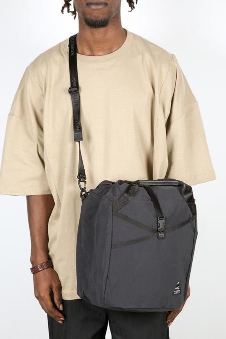 BELLWOODMADE LARGE SHOULDER BAG - BLACK