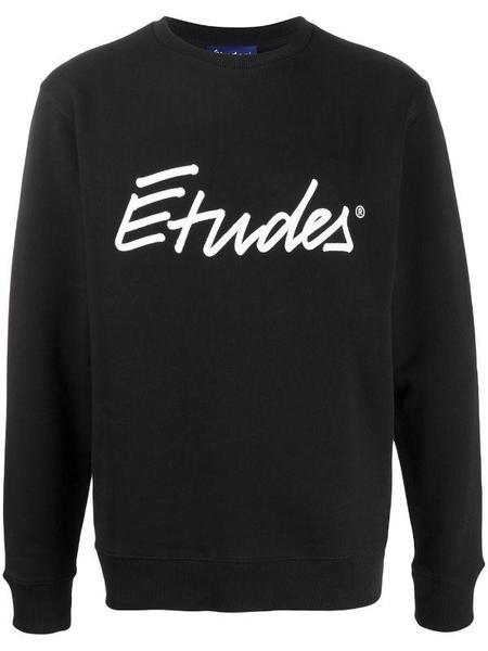 Études Studio Story Signature Sweatshirt - Black