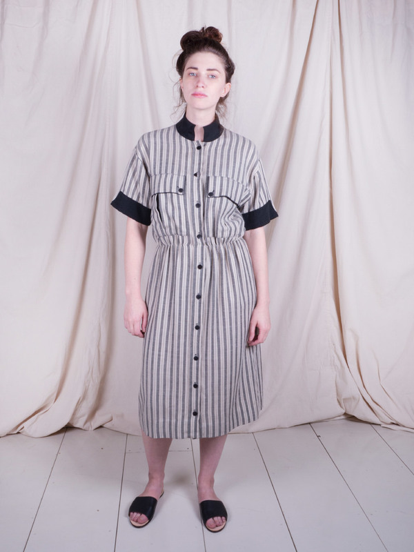 Woods Vintage Striped Dress