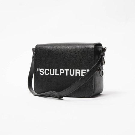 Off-White Sculpture Flap Bag - Black/White