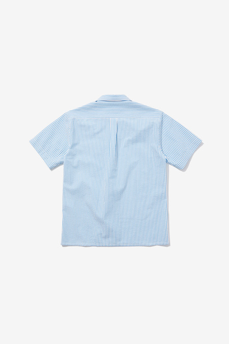 SENTIBONES SEERSUCKER HALF SLEEVES SHIRTS - Blue