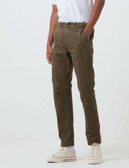 Portuguese Flannel Labura Trousers - Olive Green