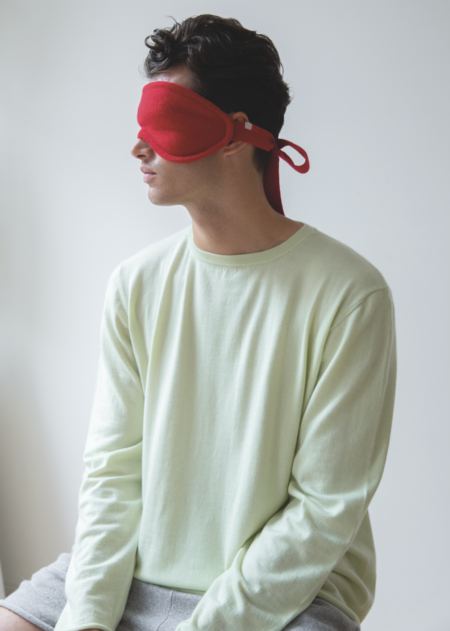 Extreme Cashmere Eye Mask - Red