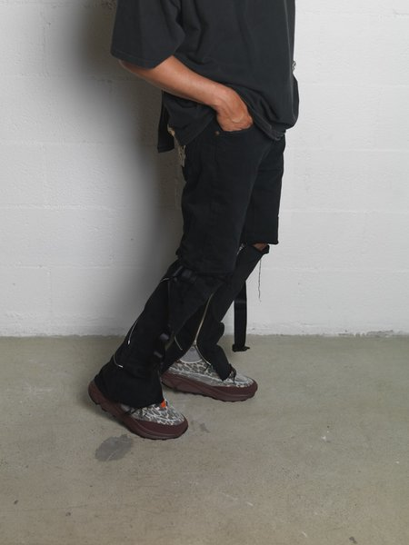article nº 0615 Transperent Mesh Sneaker - Leopard