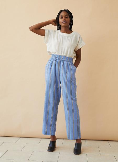 Seek Collective Sukie Pants - Blue Sky Stripe