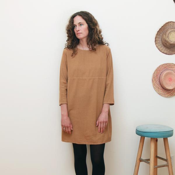 Me & Arrow Basic Dress Apple Cinnamon