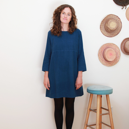 Me & Arrow Basic Dress Deep Ocean