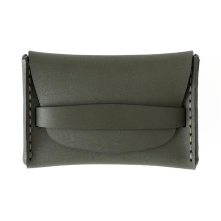 MAKR Flap Wallet - Moss