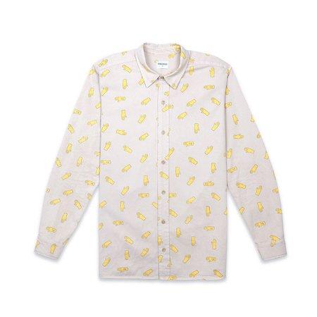 Bobo Choses B.C. Hands Shirt - Yellow