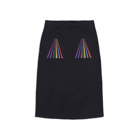 Bobo Choses Multicolor Stripes Woven Skirt - Multi