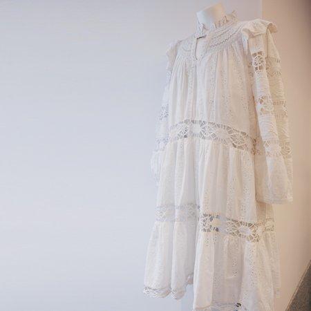 SEA NY Lea Dress - Pure White