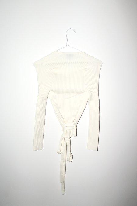 giu giu Nonna Wrap Cardigan - Ivory