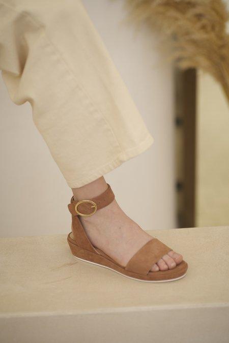 Anne Thomas Romane Velours sandals  - Rosewood