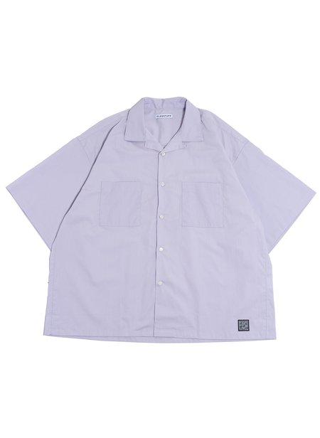 Flagstuff S/S Big Boxy Shirt - Purple