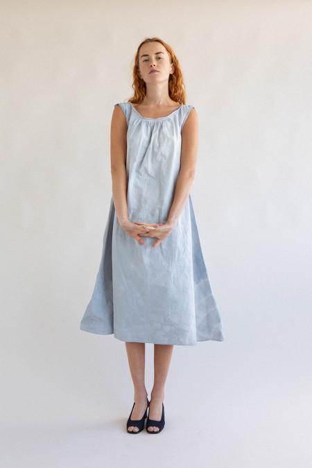 Vintage Tie Dye French Cotton Slip
