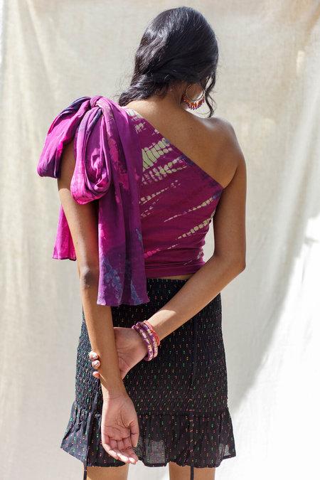 Abacaxi Divya Blouse - Jamun Tie Dye