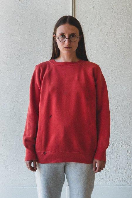 Vintage Sweatshirt - Red