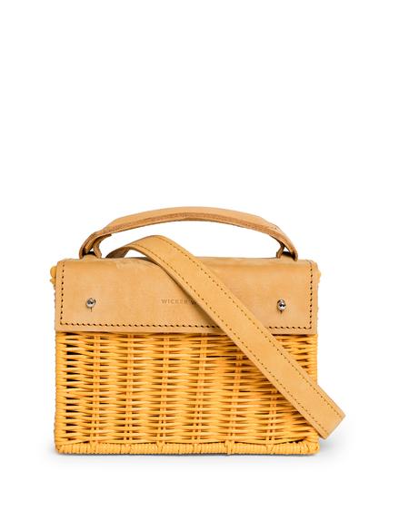 Wicker Wings Mini Kuai Bag - Yellow