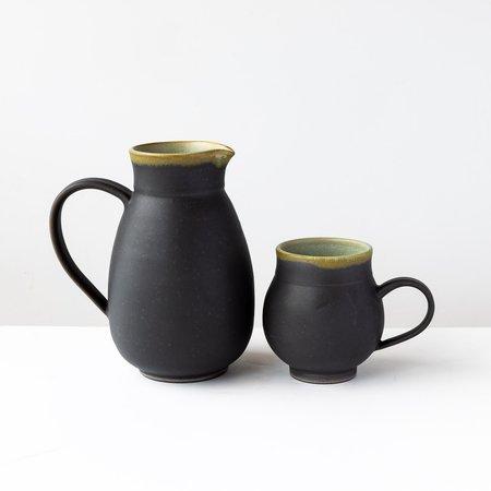 Catherine Auriol – Gaïa Céramique Sandstone Pitcher With Handle
