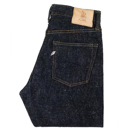 Pure Blue Japan Snow Relaxed Tapered Denim Jeans