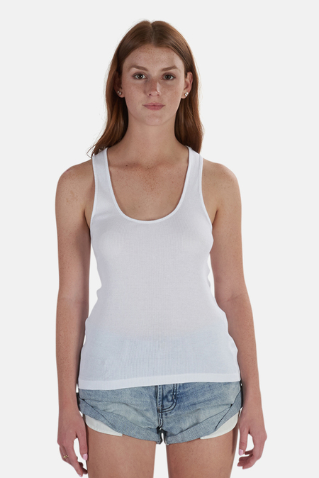 Re/Done 90s Tank Top - Optic White