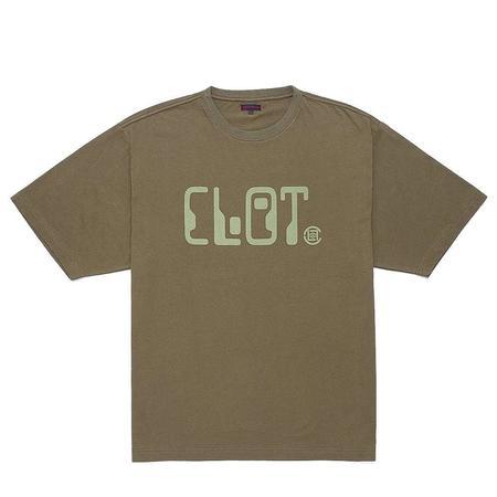 Clot Corben Dallas Font T Shirt - Green