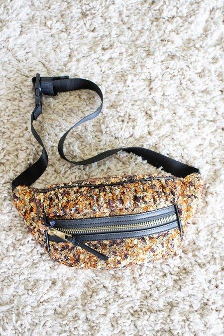 Manoush Bum Bag - Gold