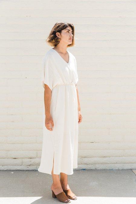 GALERIE.LA Beloved Dress - Ivory