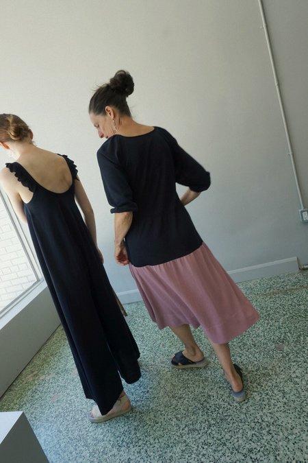 Sartoria Vico Knit Dress - Navy/Wisteria
