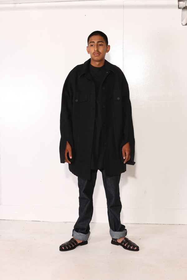 MOSS JACKET Black
