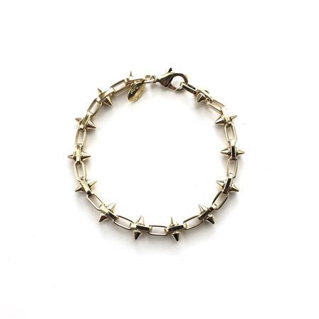 Jennifer Tuton Spiky Link Bracelet