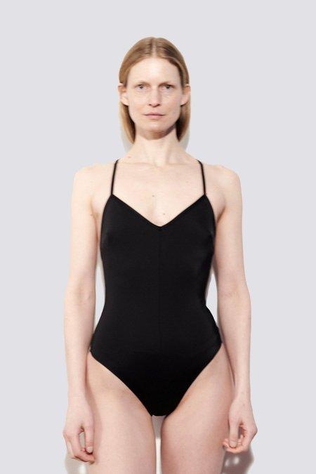 NU SWIM Seaweed Suit - Black