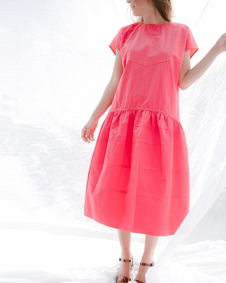 Daily Jud Eva Dress - Hot Pink