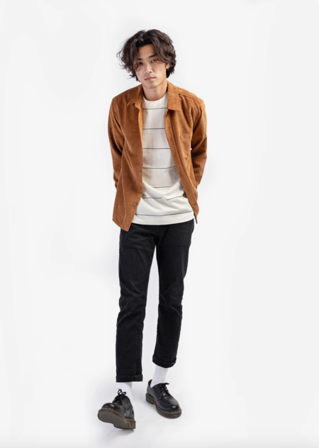 Mod Ref Copy of Cole Flannel - Brown
