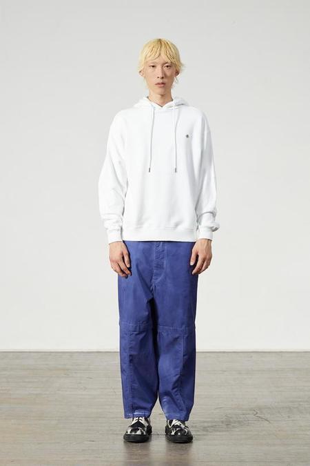 Études Studio National Hood Sweatshirt - White