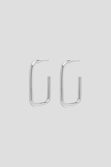 Kara Yoo Gravity Hoops - Sterling Silver