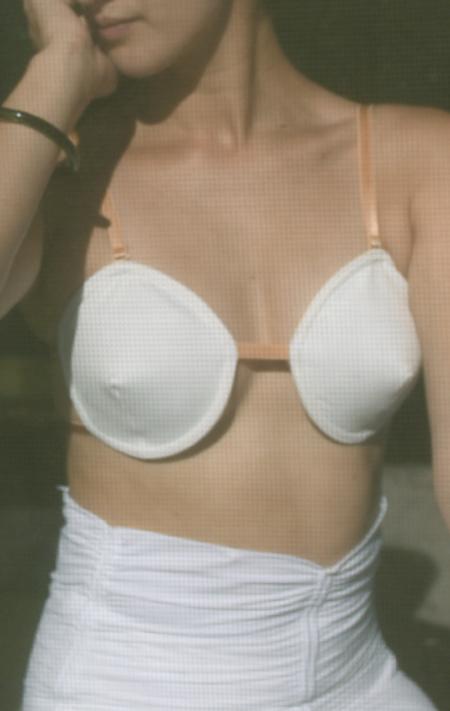 Isosceles Lingerie Coni Bikini Bra - White