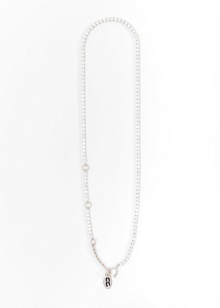 Cha Ching Rhinestone Chain Necklace