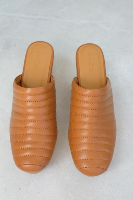 Beklina Ribbed Clog - Dry Clay