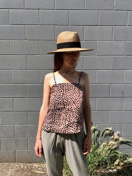 Janessa Leone Corbin Hat - Brown
