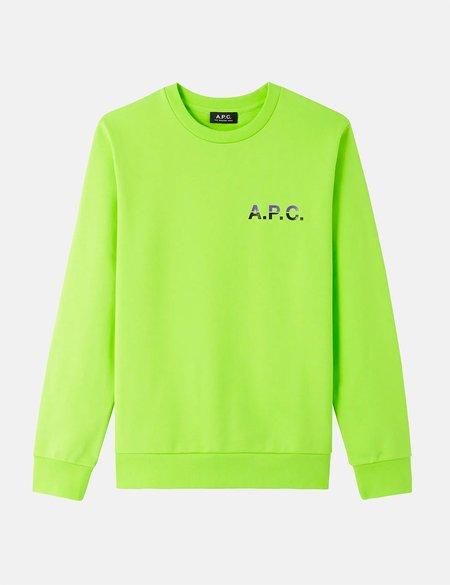 A.P.C. Michel Sweatshirt - Flashy Green